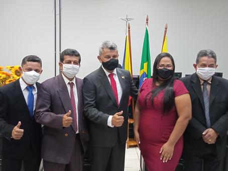Prefeito Ubiracy Vasconcelos (PT) e vereadores eleitos, são diplomados em Xapuri
