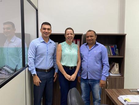 Vereador Raquel se reúne com Chefe da 2ª IGCE do TCEAC