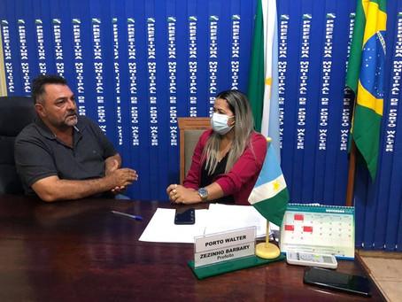 Cartório eleitoral agradece a prefeitura de Porto Walter pelo apoio no período da eleição 2020