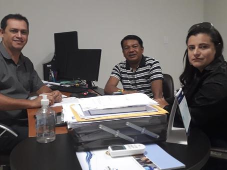 Neirimar e Nasso Kashinawa cumprem agenda nos órgãos estaduais em Rio Branco, em favor do povo