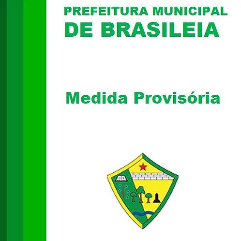 Medida Provisória 001/2019 ( Suspensão Parcial da Lei nº 0647/2002 )