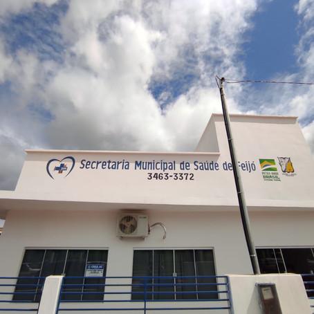 Prefeito Kiefer Cavalcante entrega e inaugura nova sede da Secretaria Municipal de Saúde