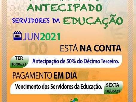 Marechal Thaumaturgo é o 1° municipio a pagar antecipação de 50% do 13° salário