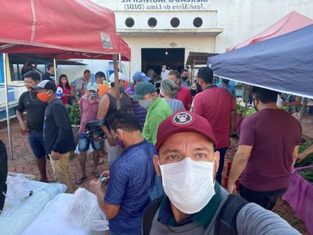 Vereador Magildo Lima visita feira e afirma que lutará por melhores condições dos feirantes
