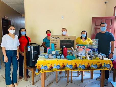 Casa Lar São João do Guarani recebe doação do Fórum da Comarca de Xapuri