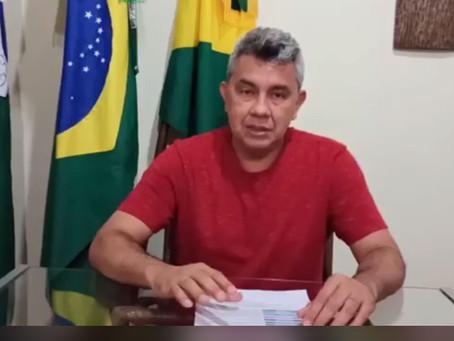 Prefeito Bira comunica adiamento do pagamento do IPTU 2020 para 2021