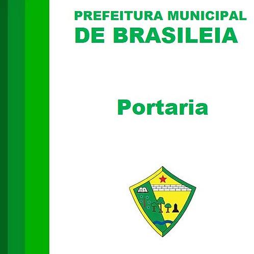 Portaria N° 125/2020 -  Afastamento de servidor público municipal