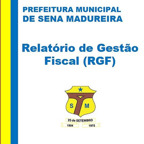 RGF 2016 - 2º Quadrimestre