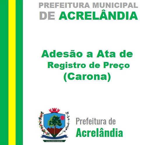 Adesão/Carona Nº 003/2021 -Fornecimento de urnas funerárias