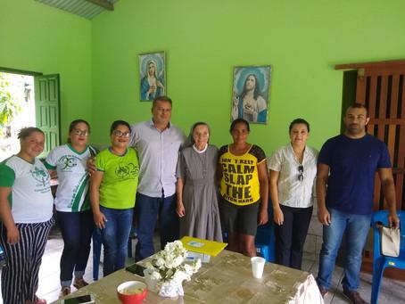 Prefeito Isaac Lima reafirma continuidade  dos trabalhos com a Pastoral da Criança