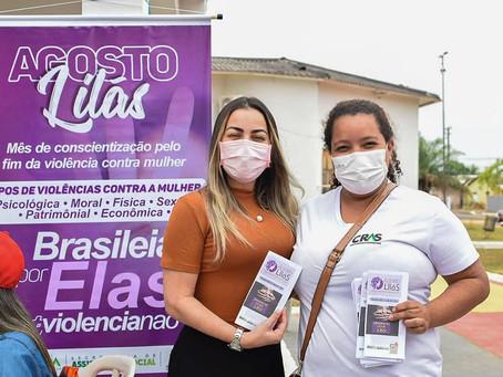 Prefeitura de Brasileia e Governo do Acre realiza ato em alusão ao Agosto Lilás