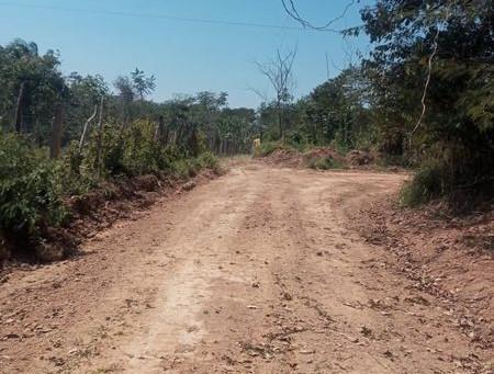 Moradores do ramal do projeto Nazaré agradecem a prefeitura pelo serviço de reabertura de ramal