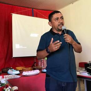 Prefeito César Andrade recebe nova escola da comunidade Novo Horizonte