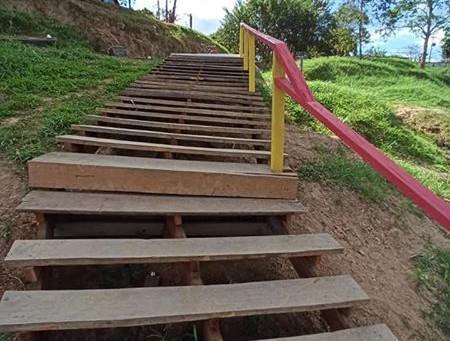 Prefeitura conclui construção de nova Escadaria de acesso ao bairro Sibéria