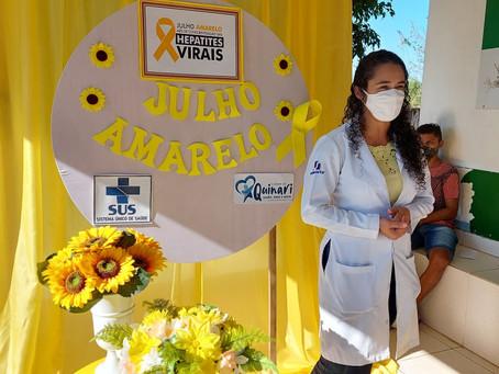 Prefeitura de Senador Guiomard realiza palestra de conscientização contra Hepatites Virais