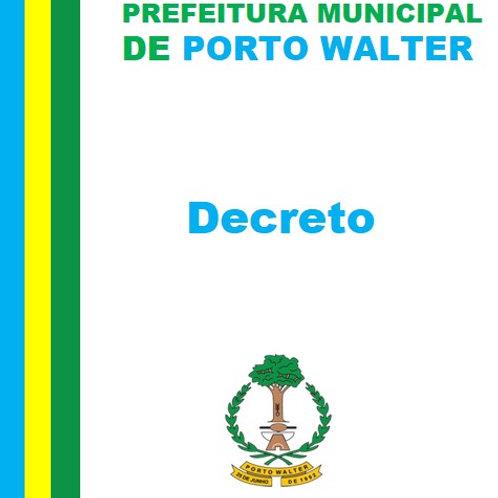 Decreto N° 013/2021 - RECADASTRAMENTO DOS SERVIDORES PUBLICOS MUNICIPAIS