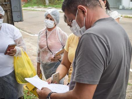 Prefeitura de Brasileia inicia vacinação contra a Covid-19 em idosos