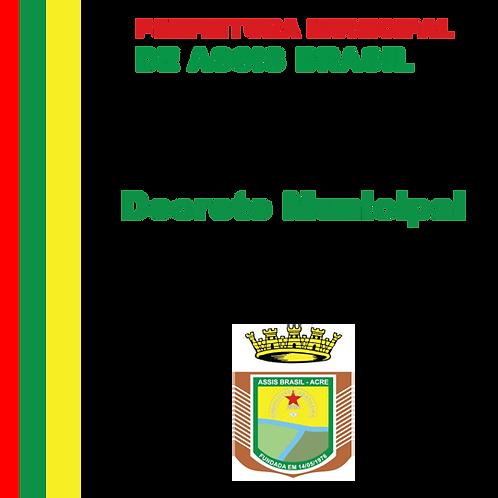 Decreto N° 166/2020 - Fica exonerado a Srª. JESSICA ALEXANDRE DE CASTRO