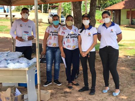 Prefeitura entrega kits de higiene e prevenção à covid-19 à população