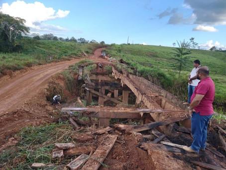 Prefeitura de Xapuri antecipa melhorias em ramais e pontes na zona rural do município