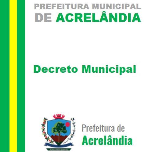 Decreto N° 015/2021 - Nomear o senhor Douglas de Souza Duarte
