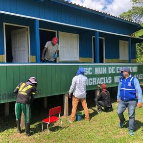 Prefeitura de Porto Walter realiza reparos para melhorar estruturas de escolas na zona rural