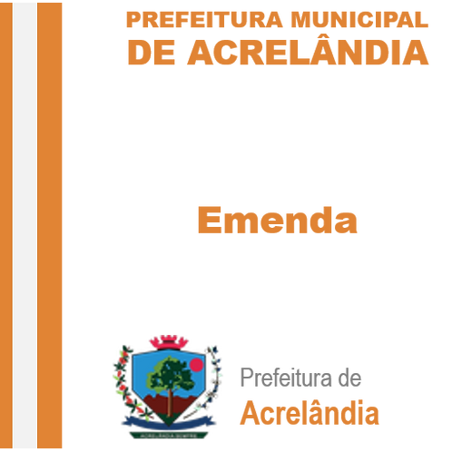 Emenda Ativa N° 02/2019