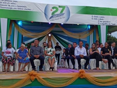 Marechal Thaumaturgo celebra 27 anos de fundação