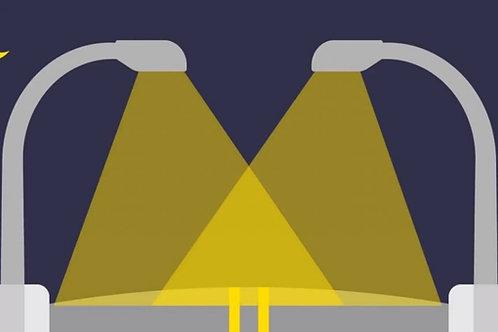 Serviço de Manutenção e Implantação das Luminárias de Vias Públicas