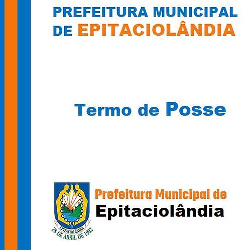 Termo de Posse 2021-2024 - Vice-Prefeito Antônio José Soares do Nascimento