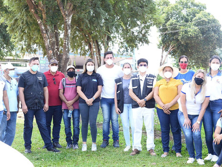 Prefeitura realiza campanha de conscientização para uso da máscara
