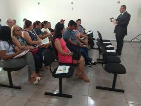 Câmara recebe Justiça Eleitoral em treinamento para eleições 2018