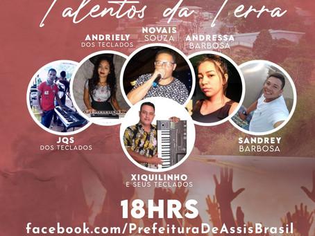 Prefeitura de Assis Brasil realiza Live Show Talentos da Terra