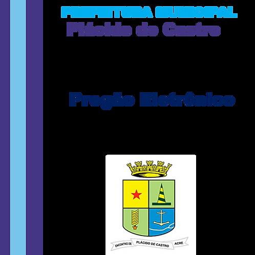 PE 001/2021 - Aquisição de Maquinário – Convênio nº 887015/2019