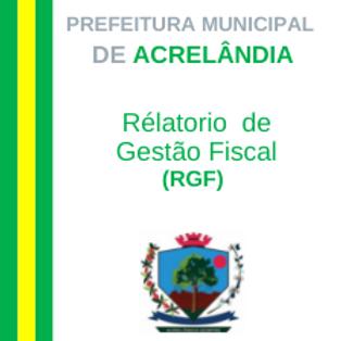 RGF 2021 - 1º Quadrimestre