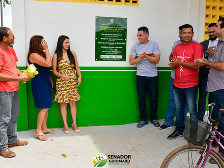 Prefeitura inaugura a Academia de Saúde no bairro Edilo Rodrigues