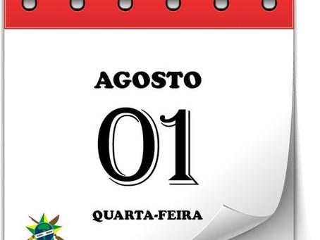 Salário dos servidores do mês de agosto de 2021 estará disponível nesta quarta-feira, 1º de setembro