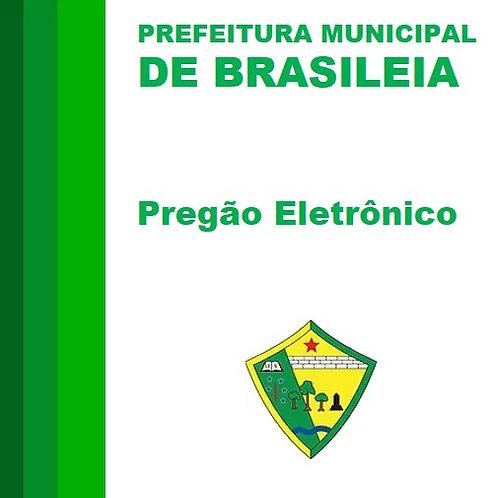 Pregão Eletrônico N° 003/2020-  Aquisição de Máquinas e Equipamentos