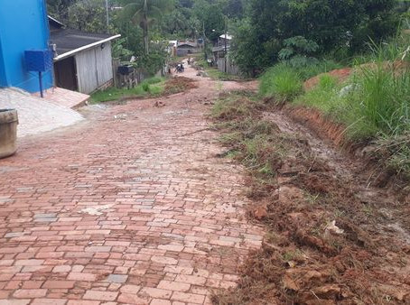 Mutirão de limpeza chega a rua Raimundo Freire