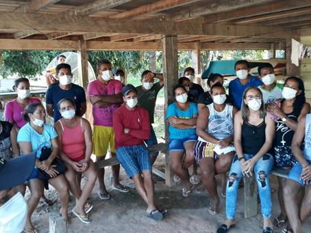 Prefeitura de Rodrigues Alves e Incra levam informação sobre benefício de assentados