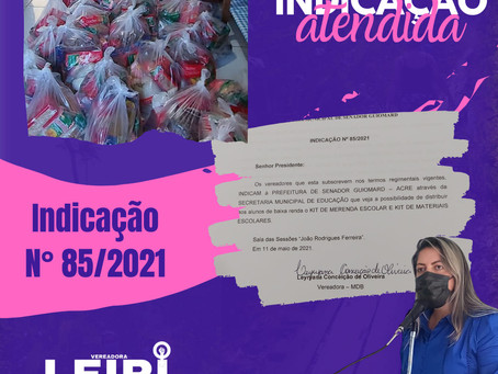 Vereadores reivindicam distribuição de merenda escolar aos alunos da rede de ensino guiomarense