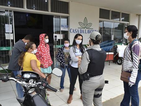 Vigilância Sanitária e Policia Militar reforçam cuidados em comércios de Brasileia