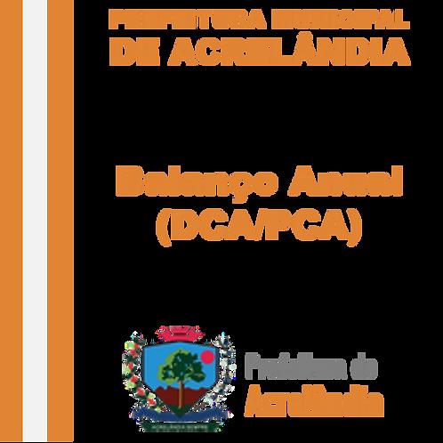 Balanço Anual - 2019