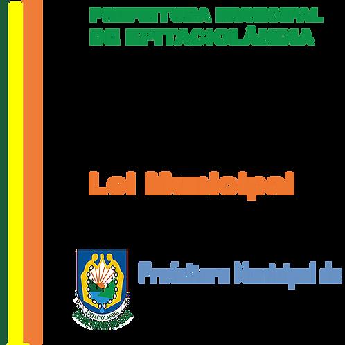 Lei N° 402/2019 - Campanha de Arrecadação do IPTU