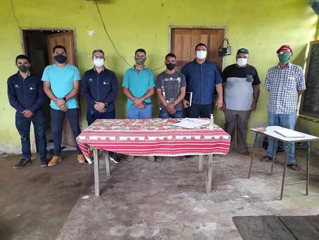 Vereadores visitam projeto de assentamento extrativista - PAE São Luís do Remanso