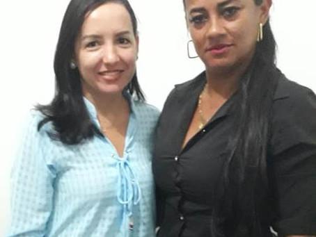 Vereadora Gleiciane Silva visita Secretaria de Promoção Social