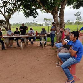 Manoel Maia e Richard realizam reunião com produtores do leite NO PA ALCOOBRÁS