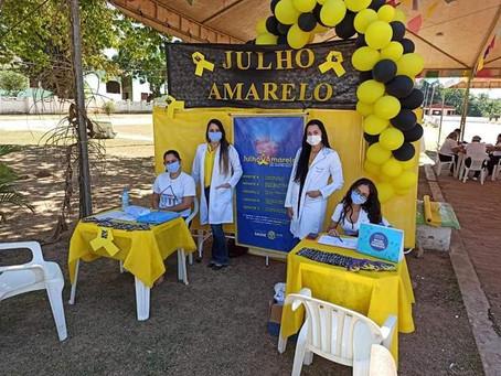 Prefeitura realiza ação: Julho Amarelo - Contra hepatites virais
