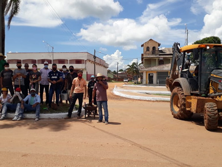 Primeiro dia do mutirão de limpeza marca como será a gestão do prefeito Padeiro