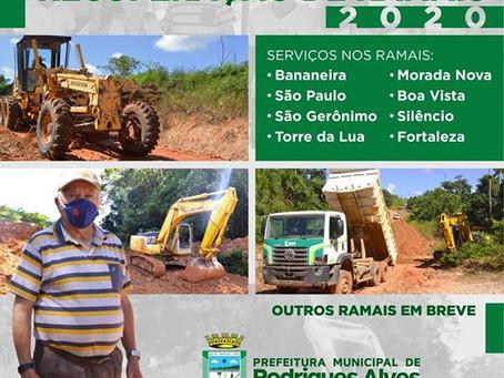 Operação de recuperação de ramais 2020